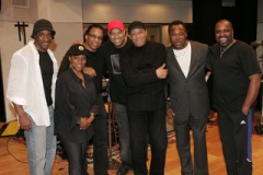 Marcus Miller, Patrice, Herbie Hancock, Frank McComb,  Al Jarreau George Benson, and Drummer Michael White