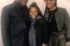 Patrice Rushen, Philip Bailey and wife.
